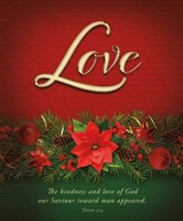 Love Advent Large Bulletin (pack of 100) (Bulletin)