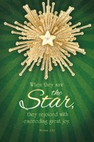 When They Saw the Star Bulletin (pack of 100) (Bulletin)