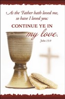 Continue Ye in My Love Bulletin (pack of 100) (Bulletin)