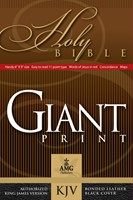 Giant Print Handy-Size Reference Bible