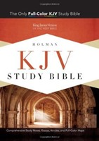 KJV Study Bible, Saddle Brown Leathertouch, Indexed