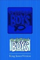 KJV Study Bible For Boys Blue Duravella