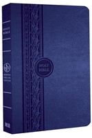MEV Thinline Reference Bible (Blue)