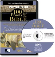 100 Proofs For The Bible: CD-ROM (CD-Rom)