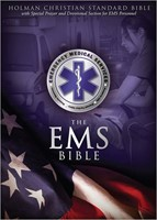 HCSB Emergency Medical Services Bible, Blue Leathertouch