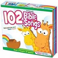 102 Bible Songs CD