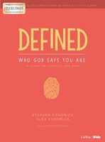 Defined: Who God Says You Are - Younger Kids Activity Book