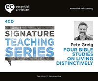 Signature Teaching Series: Living Distinctively CD