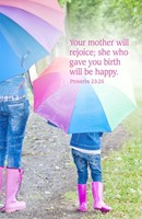 Your Mother Mother's Day Bulletin (Pkg of 50) (Bulletin)