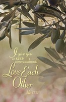 Love Each Other Maundy Thursday Bulletin (Pkg of 50) (Bulletin)
