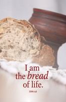 Bread Communion Bulletin (Pkg of 50) (Bulletin)